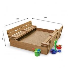 Детская песочница SportBaby-28 100х100 см
