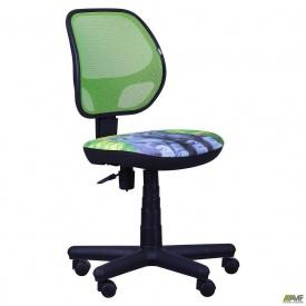 Крісло AMF Чат сидіння Дизайн №11 Кошеня спинка сітка салатовий