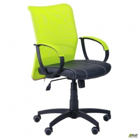 Офисное кресло AMF-8 Лайт Net LB Софт 880-950х570х650 мм сетка лайм