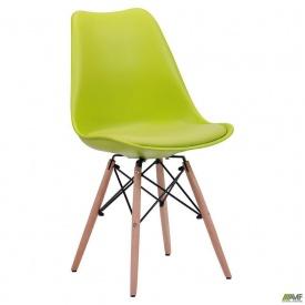 Стул AMF Aster Wood пластик светло-зеленый