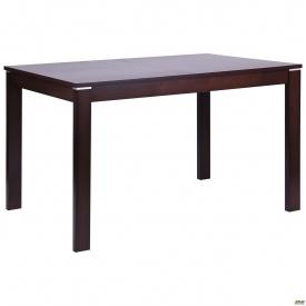 Кухонный стол раздвижной AMF Майн 1200/1500х800х740 мм орех темный