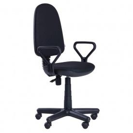 Офісне крісло AMF Комфорт-Нью 650x650x1130 мм FS чорний А-01