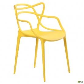 Стул AMF Viti пластик желтый