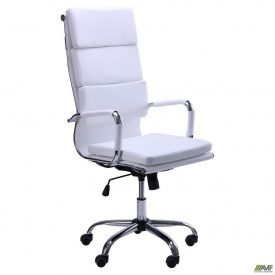 Офисное кресло AMF Slim FX HB - Solano-2 белый