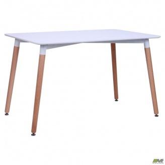 Обідній стіл АМФ Elsa 1200х800х750 мм МДФ білий