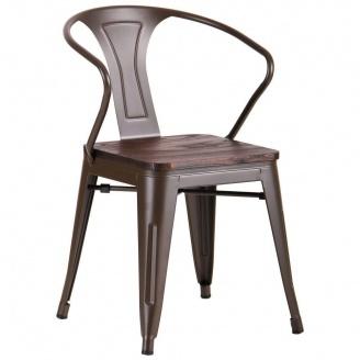 Металлический стул AMF Marley кофе
