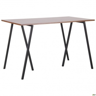 Обідній стіл AMF Роберто DT-1720 МДФ горіх чорний