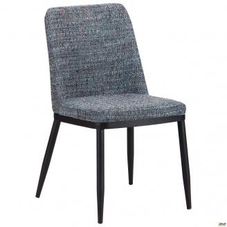Обідній стілець AMF Вітторіо 850х500х580 мм меланж бірюза