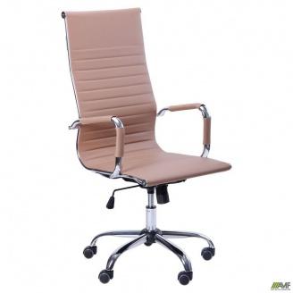 Офісне крісло AMF Slim-HB-XH-632 - Solano artleather beige бежеве