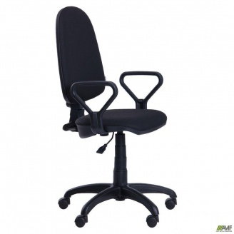 Операторское кресло AMF Престиж Люкс 50 А-1 660x660x1070 мм черное