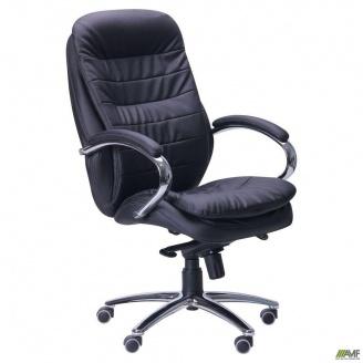 Комп`ютерне крісло AMF Валенсія HB 1210-1280х660х660 мм чорне механізм multiblock
