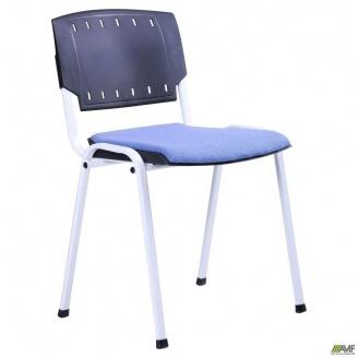 Стул Призма сиденье А-84 белый лак 540x635x825 мм