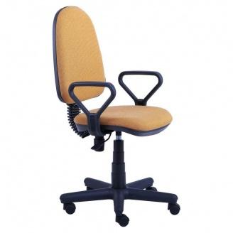 Офисное кресло AMF Сатурн 650x650x1070 мм FS АМФ-1 А-41 песочный цвет
