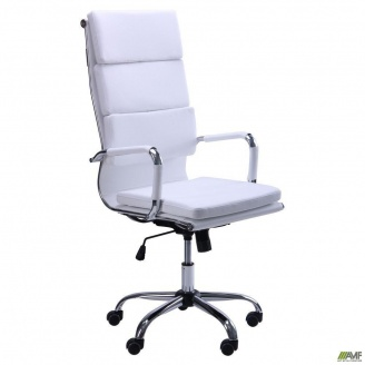 Офісне крісло AMF Slim FX HB - Solano-2 білий