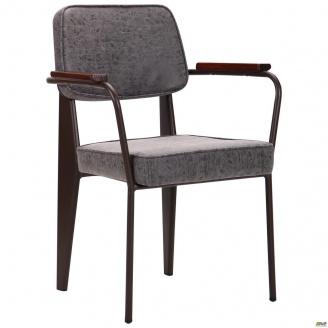 М`яке крісло AMF Lennon 820х590х590 мм кави-бетон
