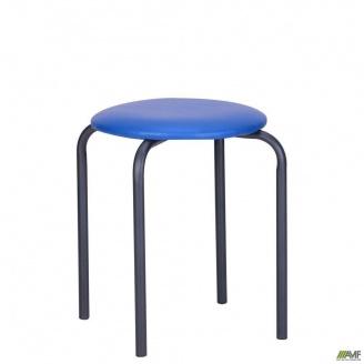 Табурет Софи Скаден 350x350x450 мм темно-синий