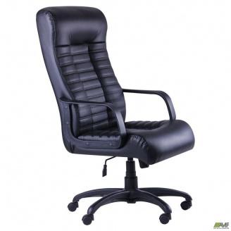 Кресло руководителя АМФ Атлетик 620x730x1310 мм Tilt кожзам черный