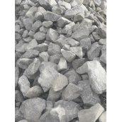 Промисловий бутовий камінь навалом сірий