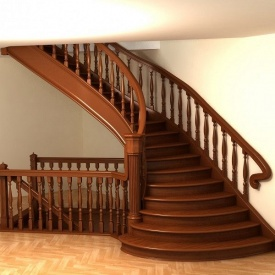 Лестница деревянная Гюмри ЛД-8