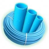 Труба полиэтиленовая водопроводная Полипласт ПЭ 110х8,1 мм 100 м