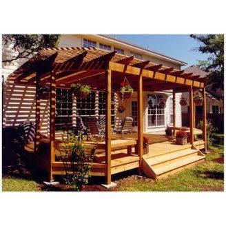 Будівництво дерев`яної перголи Гюмрі під ключ