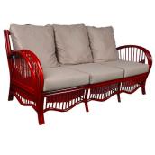 Плетений диванчик Нью-Йорк ЧФЛИ з ротанга 2060х800х910 мм