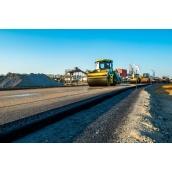 Будівництво доріг за допомогою спецтехніки