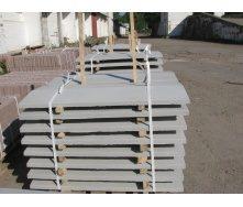 Крышка на забор 1000х250х50 мм серая