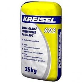 Шпаклевка цементная финишная КREISEL 602 25 кг белая