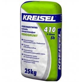 Смесь для пола самовыравнивающая Kreisel 410 25 кг