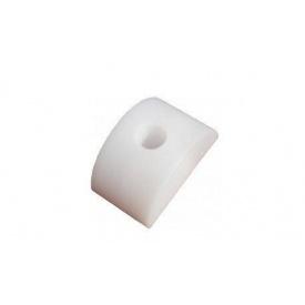 Кріплення для прозорого рулонного шиферу BudService біле
