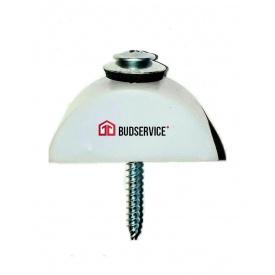 Кріплення для прозорого шиферу BudService з метизом біле