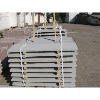 Кришка на паркан 1000х250х50 мм сіра
