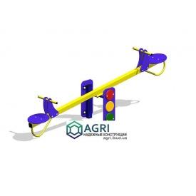 Гойдалка-балансир Світлофор 3,4х0,45х1,2 м