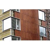 Вентилируемый фасад с применением керамогранита