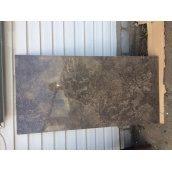 Керамогранитная напольная плитка под мрамор АТЕМ PK BEIEK BT 1200х600х9,5 мм