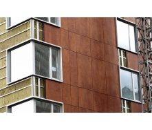 Вентильований фасад з застосуванням керамограніта