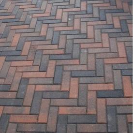 Тротуарна плитка Золотий Мандарин Цегла вузька 210х70х60 мм болонья