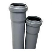 Труба ПВХ внутрішньої каналізації Wavin 110x2,6x1000 мм