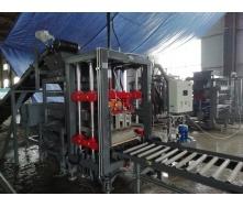Вібропрес Васт-Сервіс VPS-400 напівавтомат 10 кВт для виготовлення будівельної продукції