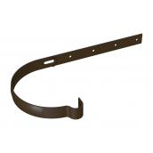 Держатель желоба River длинный 125 мм коричневый