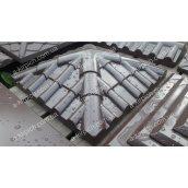 Кришка на паркан LAND BRICK Черепиця коричнева 450х450 мм