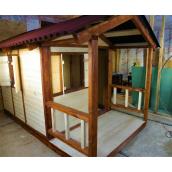 Деревянный детский домик Усадьба