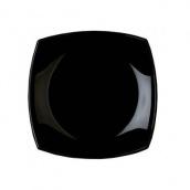 Тарелка десертная Luminarc Quadrato квадратная 19 х 19 см Black (H3670)