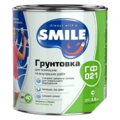 Грунтовка Smile ГФ-021 2,8 кг белый