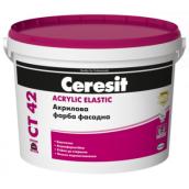 Краска акриловая Ceresit CT 42 10 л