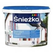 Краска акриловая для фасадов Sniezka Standart Fasad 3 л белый мат