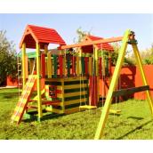 Деревянная детская площадка Карусель от производителя