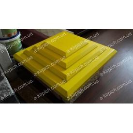 Крышка на забор LAND BRICK Египет желтая 400х400 мм