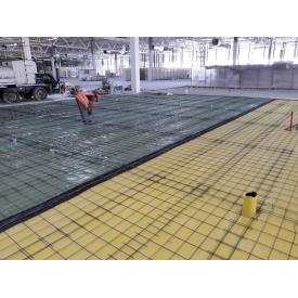 Монтаж промислового бетонної підлоги